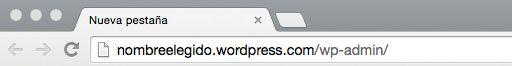 ¿Cómo acceder al panel de administración de WordPress.com?