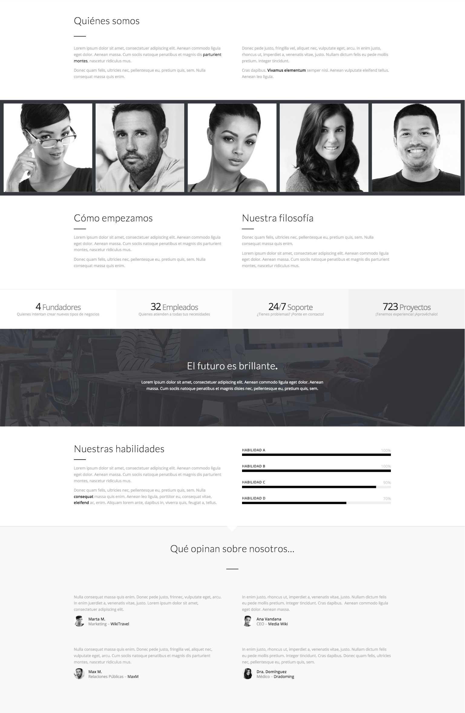 Imagen de producto página quiénes somos