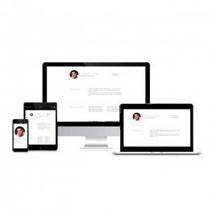 Diseño web para curriculum